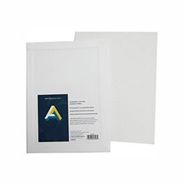 10 x 10 inch Primed Canvas Panel, Each
