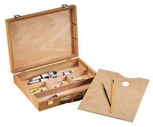 Alvin Heritage Palette Sketch Box, Medium