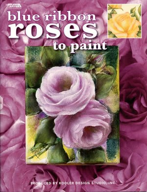 Blue Ribbon Roses to Paint front cover