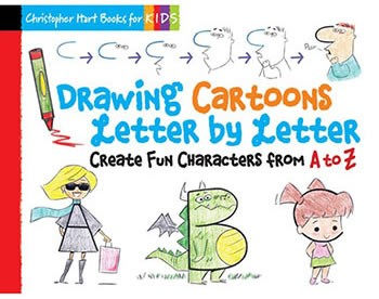 Drawing Cartoons Letter by Letter