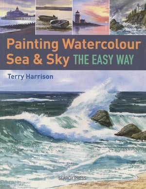 Painting Watercolour Sea and Sky