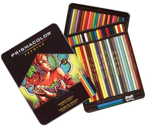 72 Prismacolor Professional Art Pencil Set