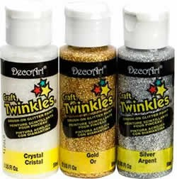 Deco Art Craft Twinkles, 2 oz