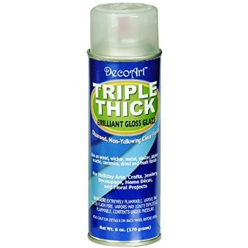 Deco Art Triple Thick Gloss Glaze, 6 oz - FLAMMABLE