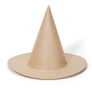 Paper Mache Witch Hat