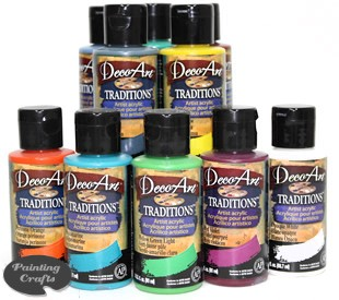 Deco Art Traditions Artist Acrylics