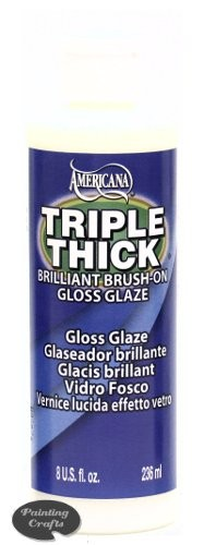 Deco Art Triple Thick Gloss Glaze, 8 oz