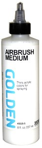 Golden AIrbrush Medium, 8 oz.