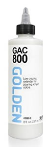 GAC 800 Acrylic & Pouring Medium, 8 oz. Golden