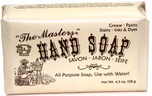 Master's Hand Soap, 4.5 oz Bar