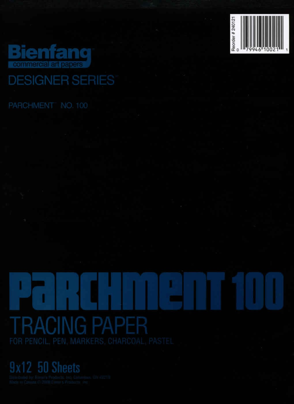 Bienfang Heavy Duty Parchment Tracing Pad