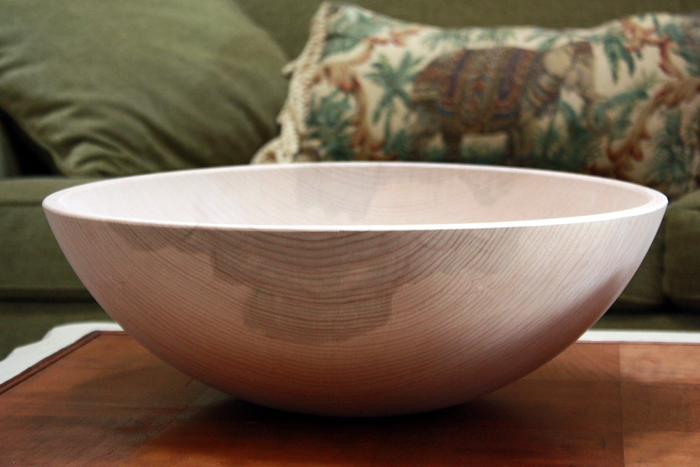 "17"" 1st Quality Wooden Bowl"