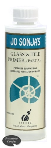Jo Sonja Glass and Tile Primer (Part A)