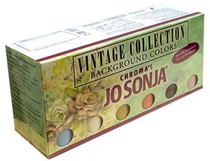 Jo Sonja Vintage Colour Collection - Set of 12 Colors