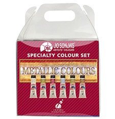 Jo Sonja 6 - 20ml Metallic Set