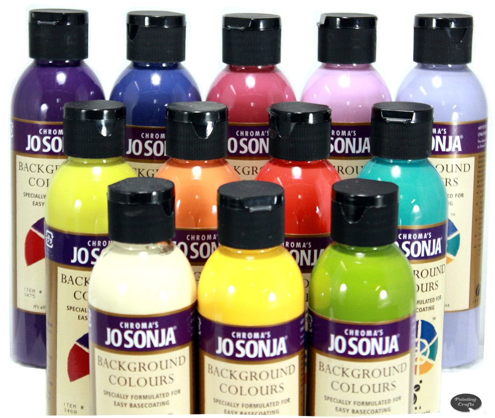 Jo Sonja 6 oz Clear Collection Background Color