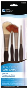 Detail Brush Set, Soft Comfort Loew Cornell