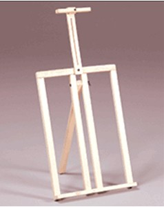 Prima Table Top Frame Easel Natural Finish