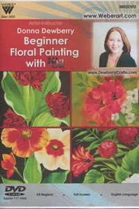 Donna Dewberry Beginner Floral Painting with wOil DVD