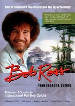 Spring: Four Seasons Bob Ross, 3-Disc DVD Set