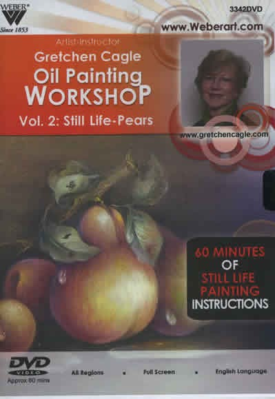 Still Life Pears Volume 2 with Oils, 1 Hour DVD