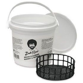Bob Ross Brush Cleaning Bucket and Screen
