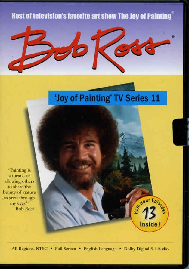 The Joy of Painting-Series 11 DVD