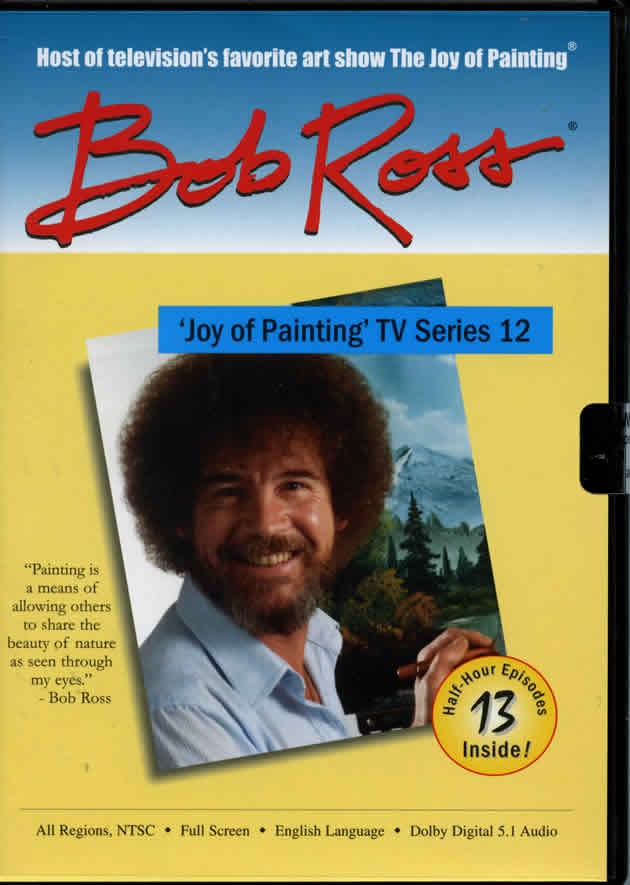 The Joy of Painting - Series 12 DVD