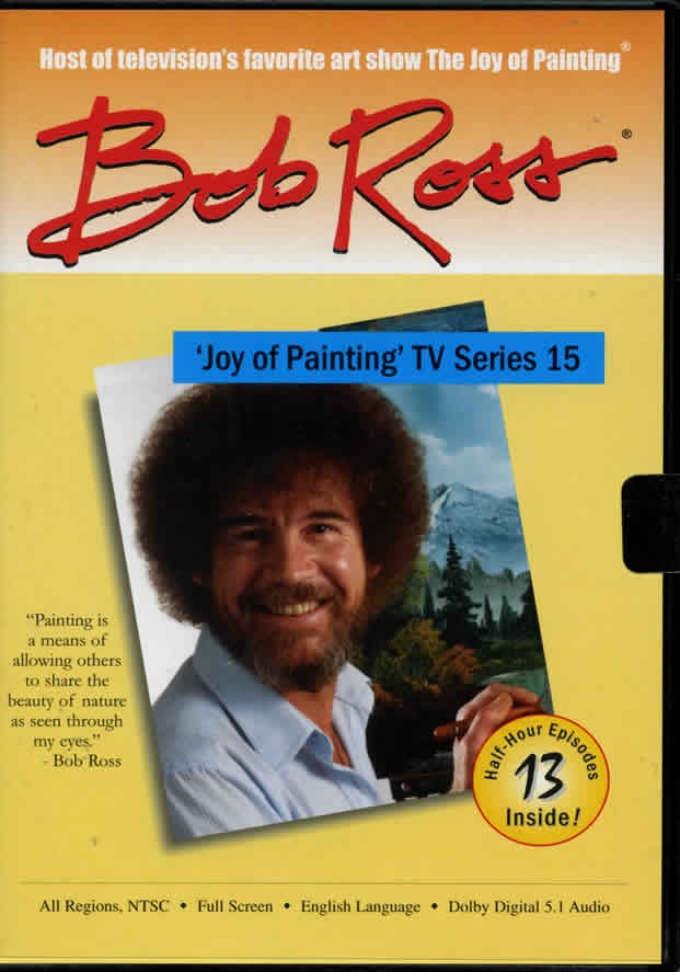 The Joy of Painting - Series 15 DVD