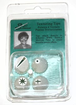 Susan Scheewe Set of 4 Texturing Tips