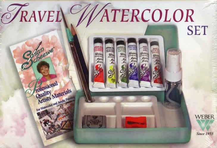 Susan Scheewe Travel Watercolor Set