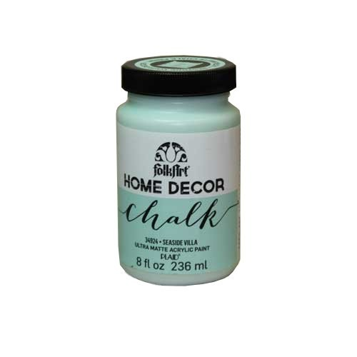 folkart home decor chalk seaside villa 8 oz - Home Decor Chalk Paint