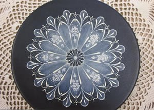 Roses and Lace Jewelry Plate Design Packet, Arlene Linton