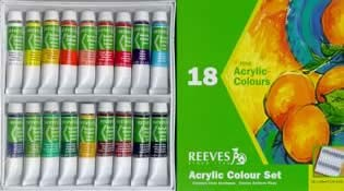Reeves Acrylic Paint Sets, Tubes