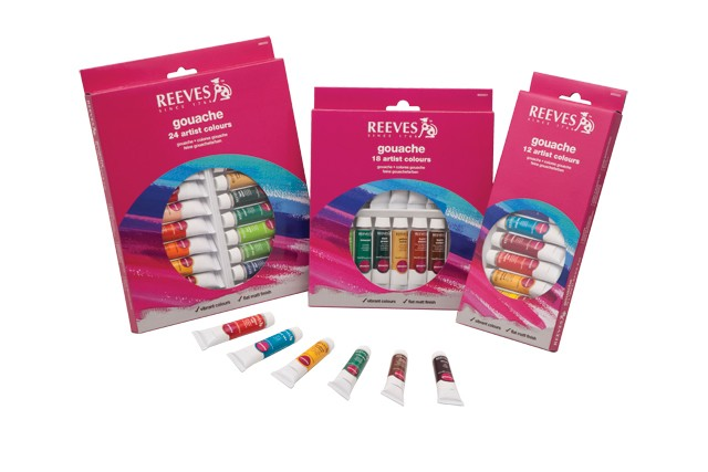 Reeves Gouache Tube Sets