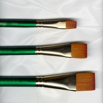 Flat Wash / Glaze Expression Brush by Robert Simmons