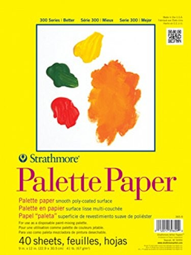 Strathmore Disposable Acrylic Palette Pad, 9 in x 12 in