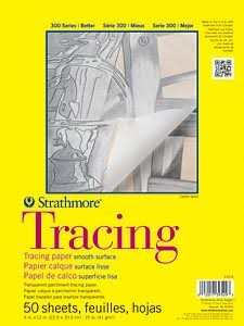 "Strathmore Tracing Paper Pad, 9"" x 12"""