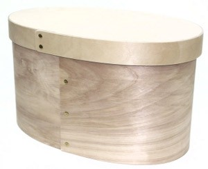 Bentwood Oval Colonial Bonnet Boxes