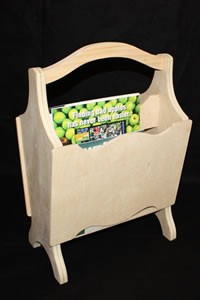 Michigan Magazine Rack