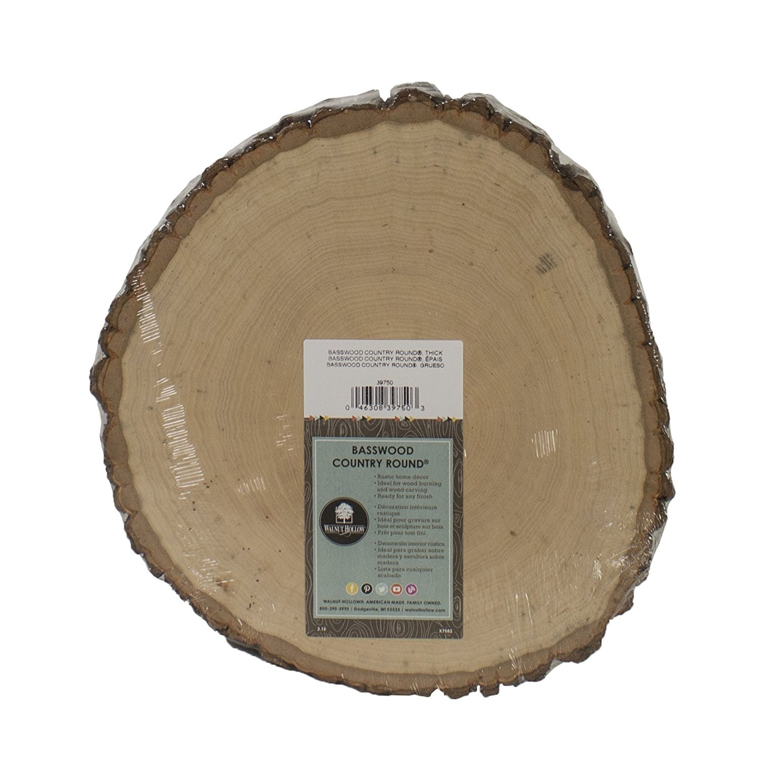 Basswood Country Oval, Thick