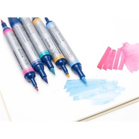 Artist Watercolor Markers, Set of 6