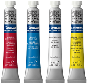 Winsor & Newton Cotman Watercolors 8ml Tubes
