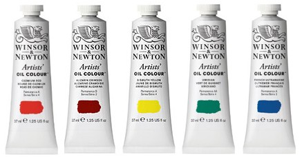 Winsor and Newton Artists Oil Paint