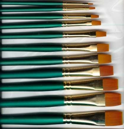 Winsor and Newton 500 Bright Art Brushes