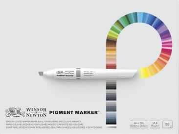 Pigment Marker Pad, 9 x 12 inch