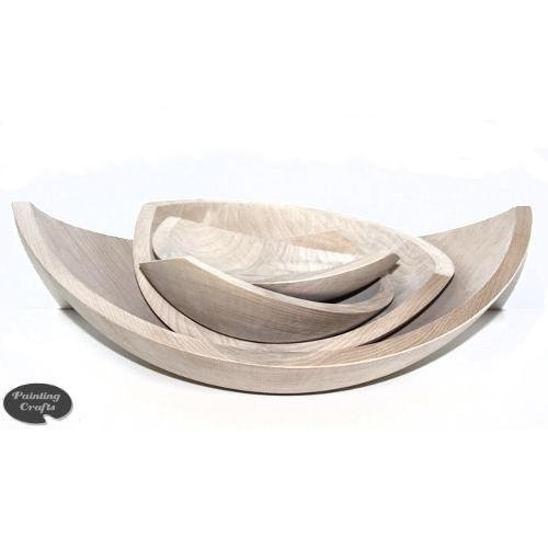 Wedge Wood Bowls with Pointed Ends