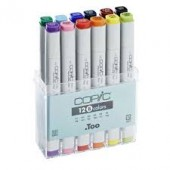 Copic Sketch Marker Set, 12 Basic Colors