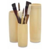 Bamboo Brush Vases