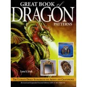 Great Book of Dragon Patterns Front Cover